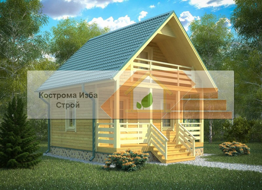 БД-003 Звенигород 6х6м