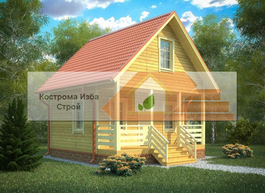 БД-004 Ивантеевка 6х6м
